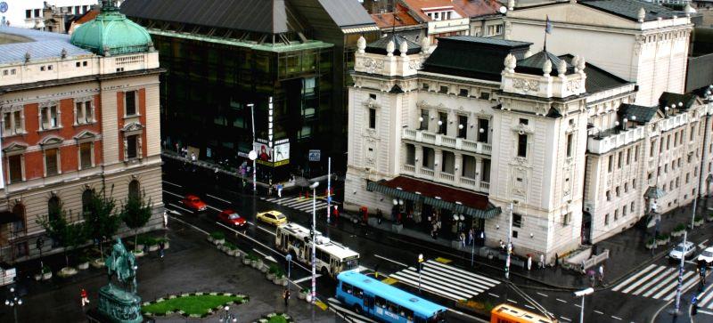 Belgrade panorama view.