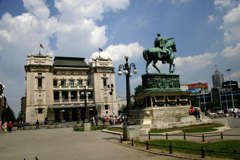 Belgrade's Republic Square.