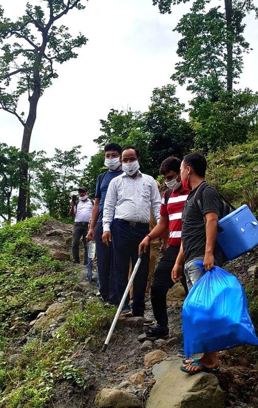 Bengal's Alipurduar DM braves hills, jungle to vaccinate villagers