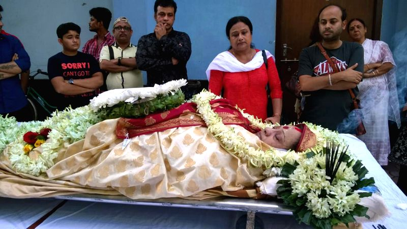 Bengali film and television actress Rita Koiral, who died after a three-month battle with liver cancer at a private hospital in Kolkata on Nov 19, 2017. She was 58. - Rita Koiral