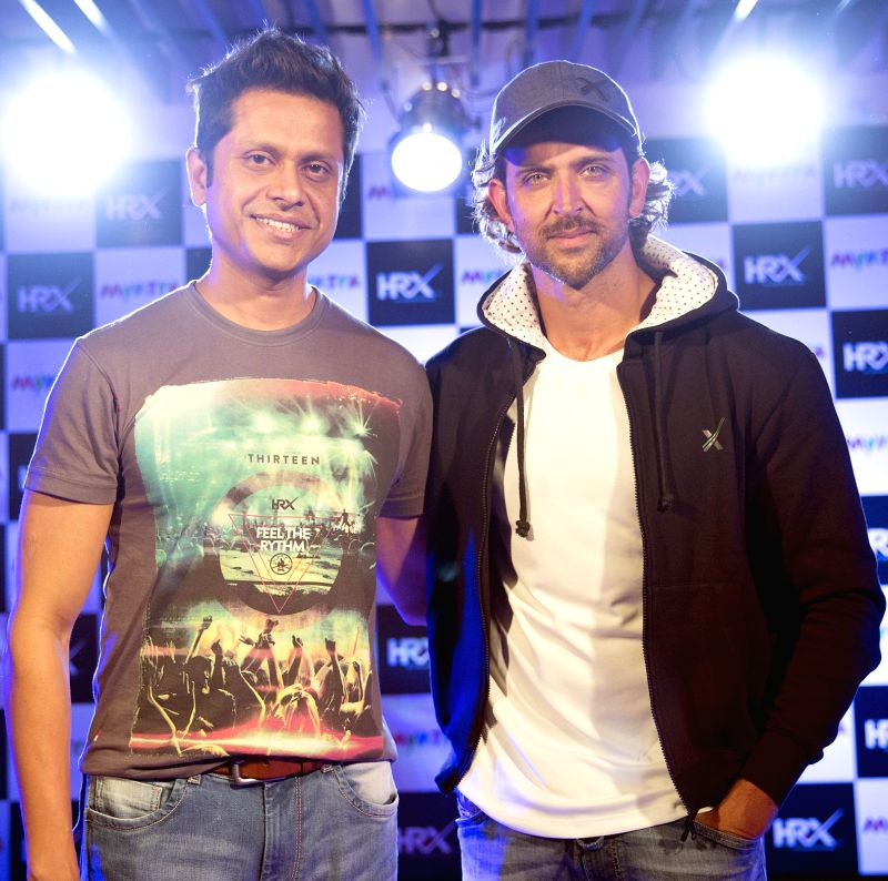 Actor Hrithik Roshan during a programme in Bengaluru, on March 25, 2015.