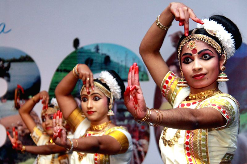 Artists performs during a ​​programme organised by ​​Kerala Tourism in Bengaluru on Jan. 13, 2015.