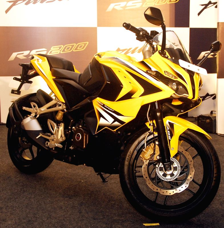 Bajaj launches Pulsar RS200 in Bengaluru, on March 26, 2015.