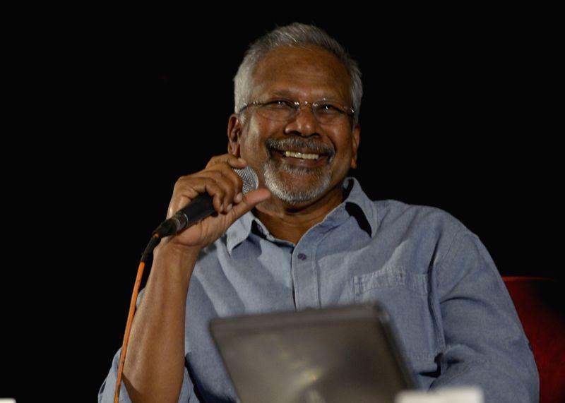 Bengaluru: Director Mani Ratnam addresses a press conference on 8th Bengaluru International Film Festival in Bengaluru on Jan 30, 2016.