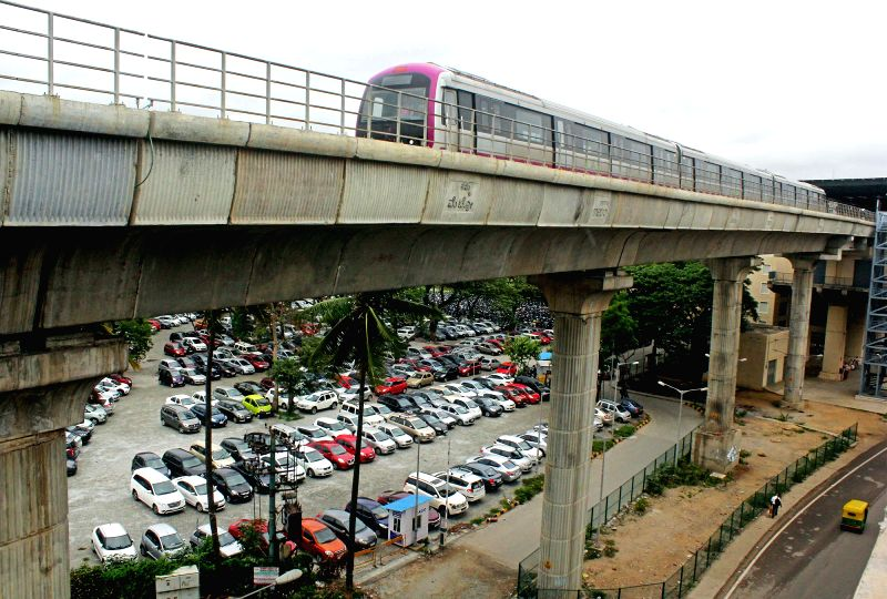 Bengaluru Metro Rail Corporation Limited operates metro services normally during the Karnataka shutdown call given by the Federation of Kannada Associations in Bengaluru, on June 12, 2017. ...