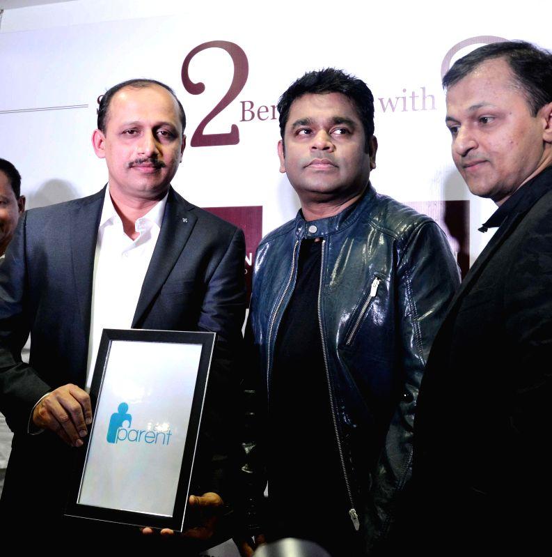 Bengaluru : Music Director AR Rehman during inauguration of a jewellery show room in Bengaluru on Feb. 1, 2015.