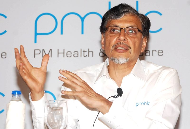 PMHLC Co-Founder and Chairman Phaneesh Murthy addresses a press conference in Bengaluru, on March 23, 2015.