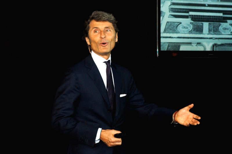 President and CEO of Automobili Lamborghini Stephan Winkelmann during the inauguration of the company`s showroom, in Bengaluru on Nov. 25, 2014.