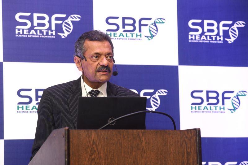 Bengaluru: SBF Healthcare & Research Centre Founder-Chairman Wing Commander (Retd) V.G. Vasishta in Bengaluru on June 8, 2019. (Photo: IANS)