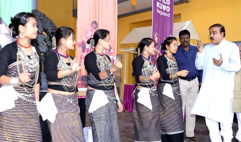 Union Chemicals and Fertilizers Minister Ananth Kumar during inauguration of two-day long North East Cultural Festival at the Indira Gandhi National Centre for the Arts in Bengaluru, on ... - Ananth Kumar