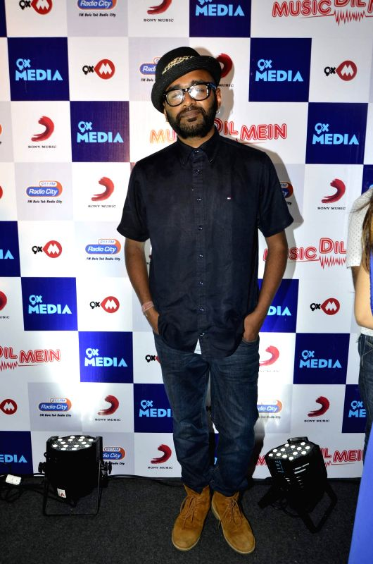 Benny Dayal during the launch of music video `Music dil mein` composed by Rochak Kohli for the apt occasion of World Music Day in Mumbai on Friday, June 20, 2014. - Rochak Kohli