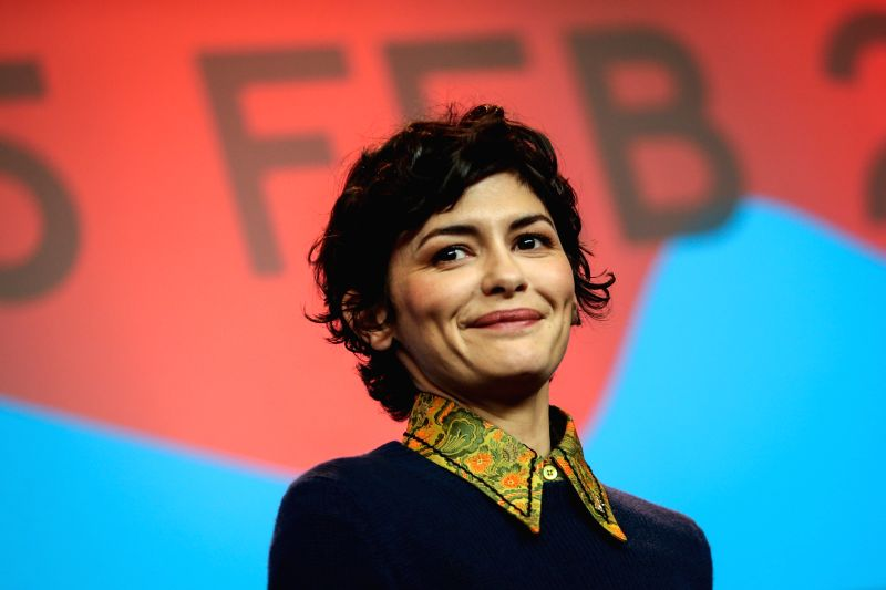 French actress Audrey Tautou, a member of the jury, attends a press conference at the 65th Berlinale International Film Festival in Berlin, Germany, on Feb. 5, 2015. ... - Audrey Tautou