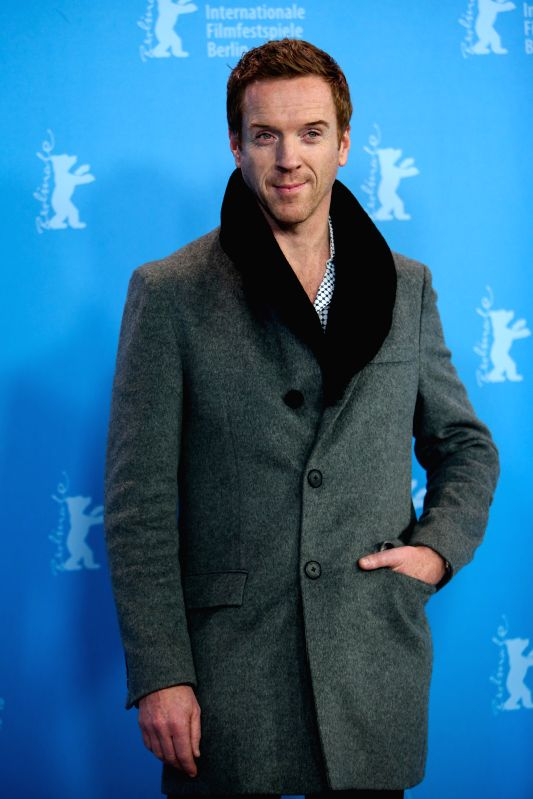 """Damian Lewis poses for photos during a photocall to promote the movie """"Queen of the Desert"""" at the 65th Berlinale International Film Festival in Berlin, ..."""