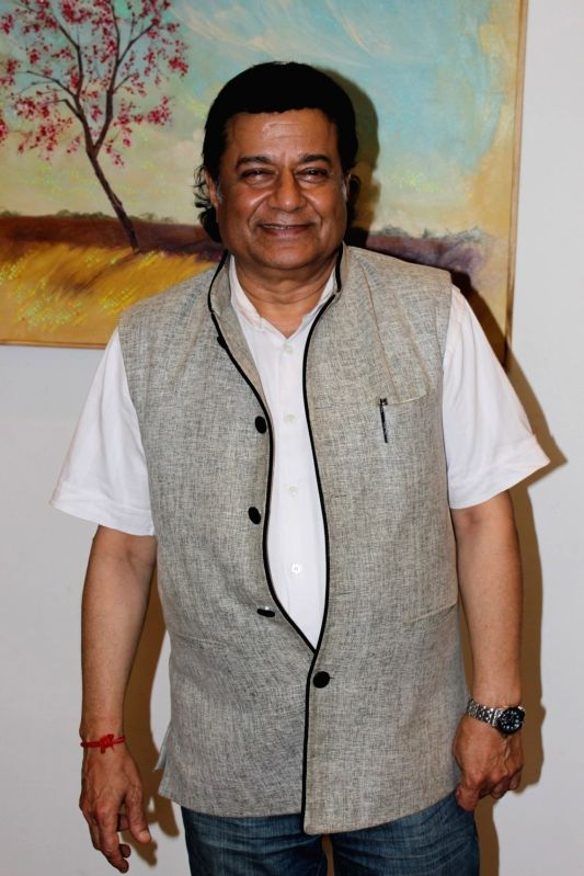 Bhajan singer Anup Jalota during a programme in Mumbai on June 6, 2017.