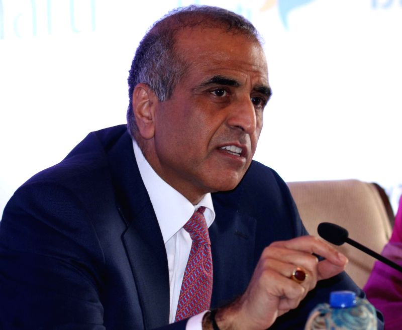 Bharti Enterprises' Chairman Sunil Bharti Mittal during a press conference in New Delhi on Nov 26, 2015.