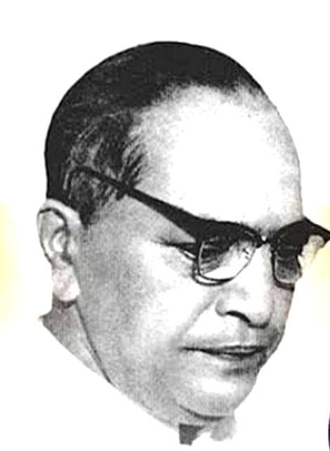 Bhimrao Ramji Ambedkar.