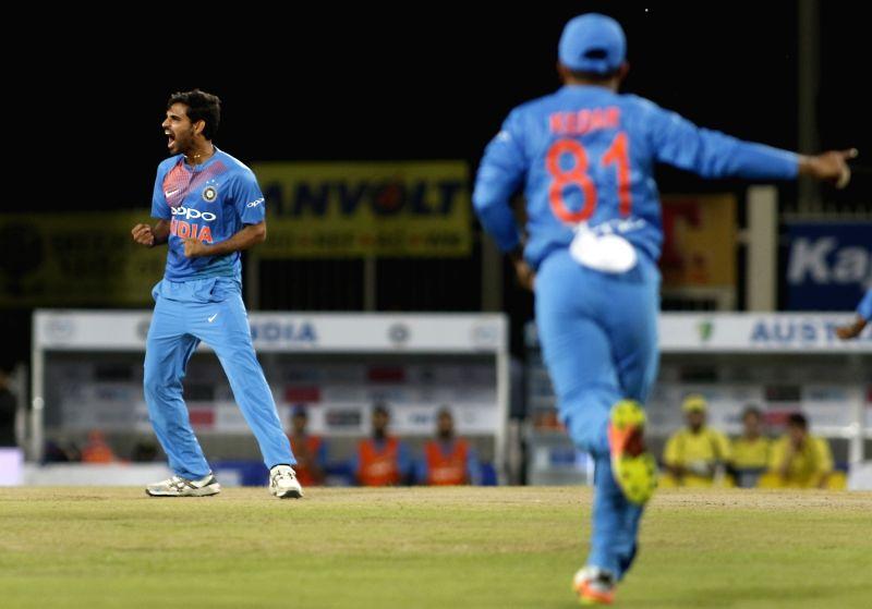 India vs Australia - T20 - Bhuvneshwar Kumar