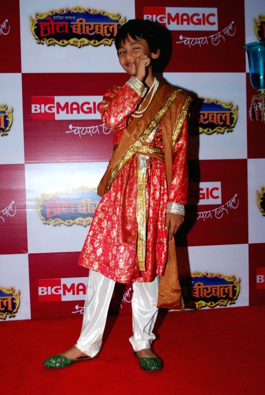 BIG MAGIC launches special mini-series `Chota Birbal` in Andheri, Mumbai, on July 4, 2014.