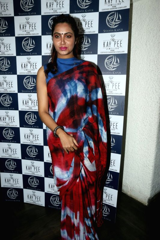 "Bigg Boss Season 11"" contestant Arshi Khan at a book launch in Mumbai on April 13, 2018 . - Arshi Khan"