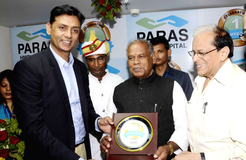 Bihar Chief Minister Jitan Ram Majhi during a programme in Patna on Aug. 16, 2014.