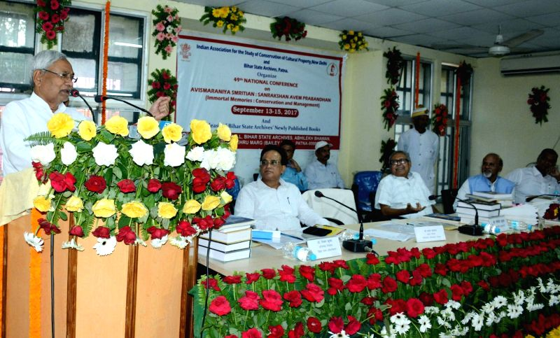 49th National Conference on Immortal Memories: Conservation and Management - Nitish Kumar - Nitish Kumar