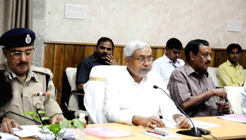 Bihar Chief Minister Nitish Kumar during a meeting in Patna, on June 22, 2015. - Nitish Kumar