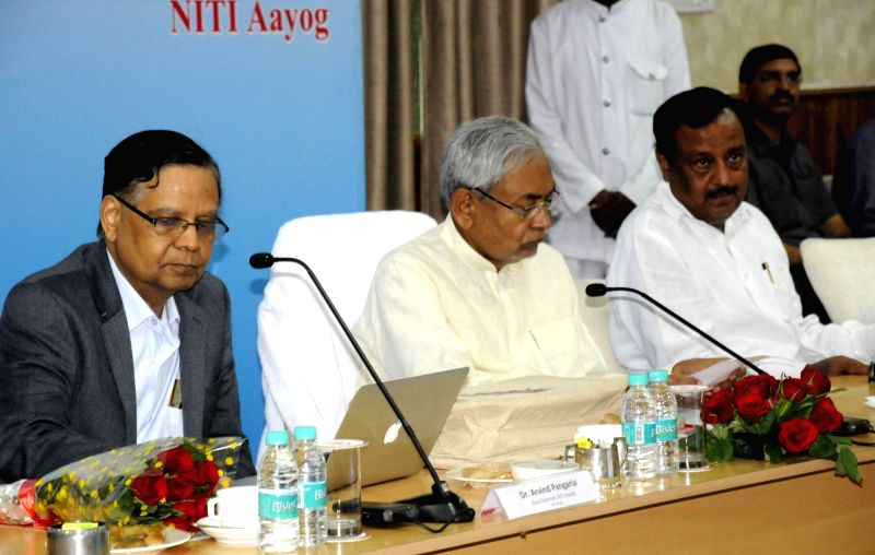 Bihar Chief Minister Nitish Kumar during a programme in Patna on May 6, 2016. - Nitish Kumar