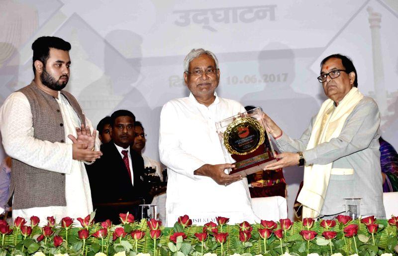 Bihar Chief Minister Nitish Kumar during a programme in Patna, on June 10, 2017. - Nitish Kumar