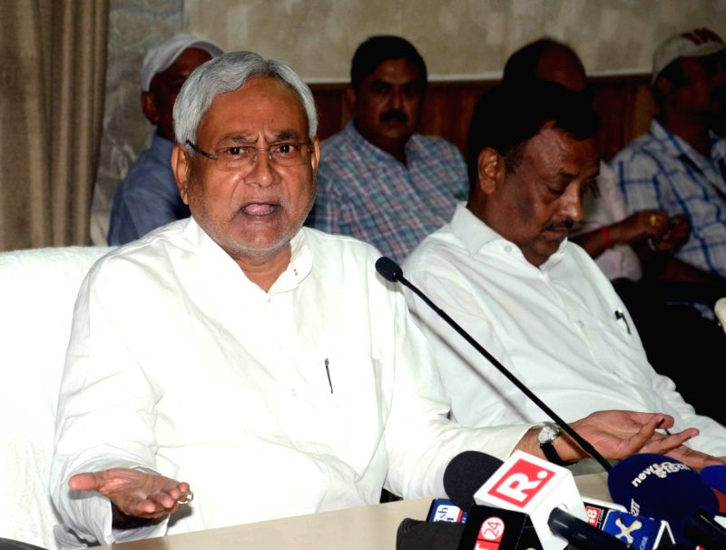 Bihar Chief Minister Nitish Kumar during a programme in Patna, on June 12, 2017. - Nitish Kumar