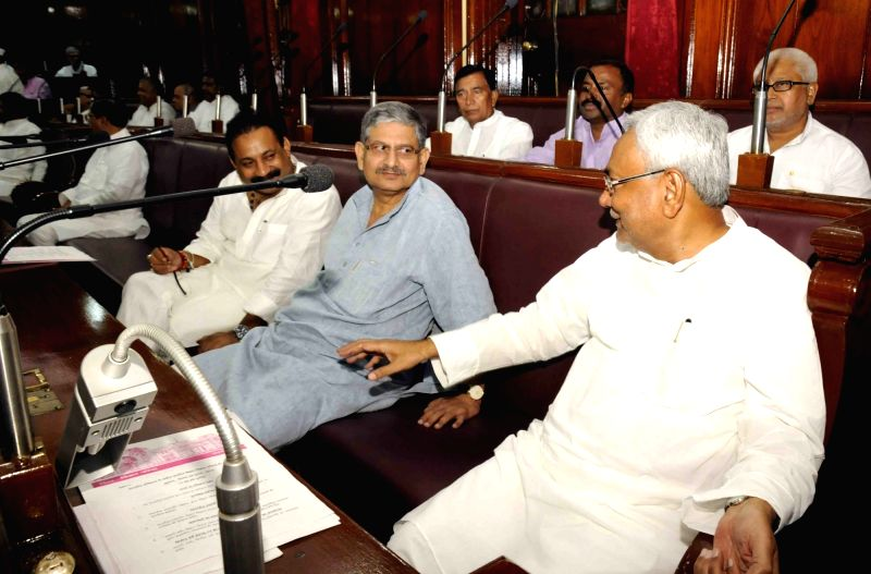 Bihar Chief Minister Nitish Kumar during monsoon session of the state assembly in Patna on July 29, 2016. - Nitish Kumar