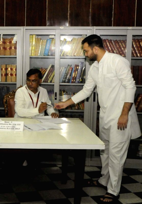 Presidential Polls - Tejashwi, Tej Pratap - Tejashwi Yadav