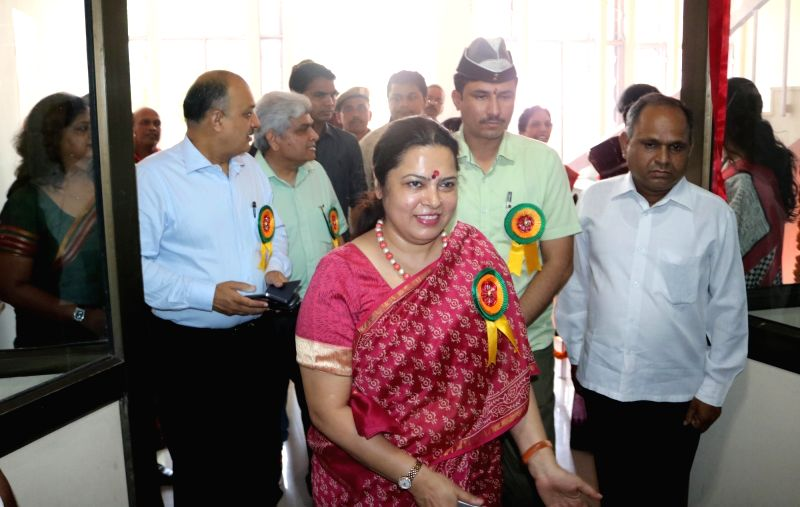 BJP MP Meenakshi Lekhi at the inauguration of first Unani dispensary at International Inoculation Center in New Delhi, on June 1, 2016.