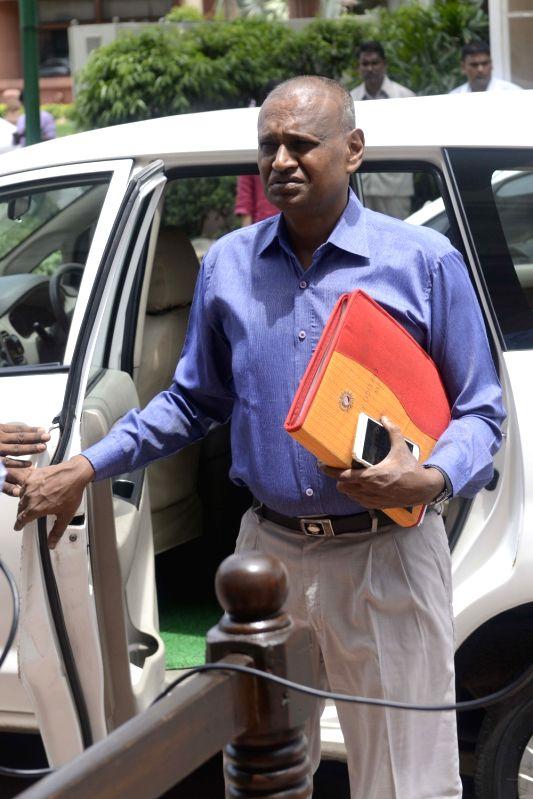 BJP MP Udit Raj at Parliament in New Delhi, on July 21, 2016.