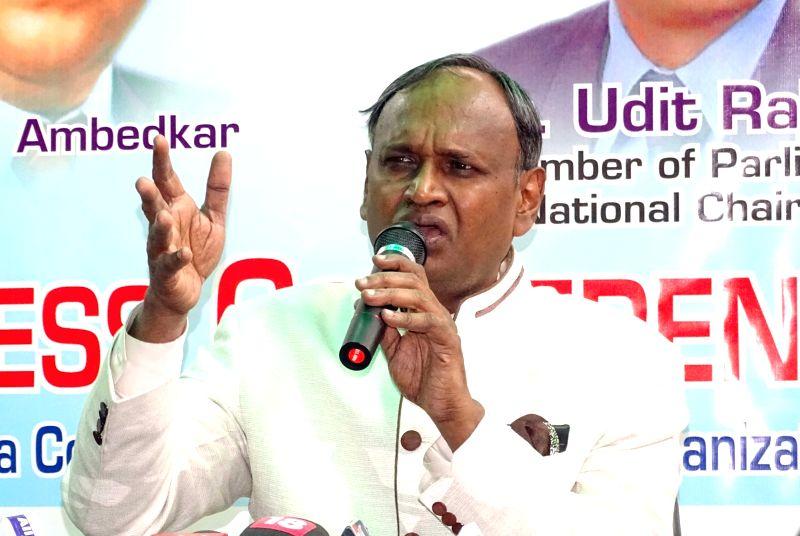 BJP MP Udit Raj. (File Photo: IANS)
