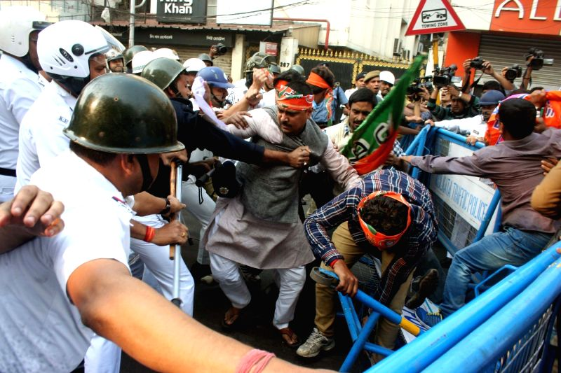 BJP's demonstration