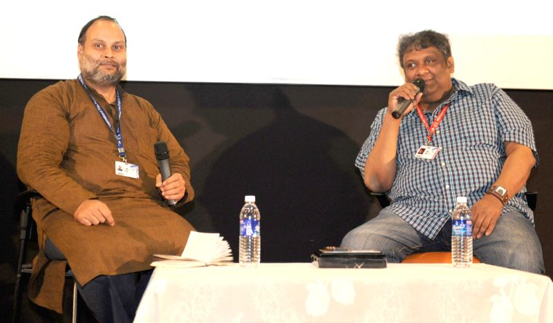 BLACK BOX - In conversation with the Director, Kaushik Ganguli at the 46th International Film Festival of India (IFFI-2015), in Panaji, Goa on Nov 26, 2015.
