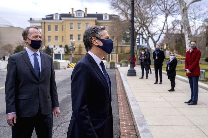 Blinken, Lavrov to meet in Iceland on May 20 (Ld)