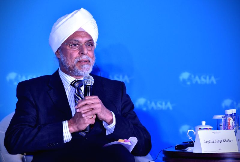 "Jagdish Singh Khehar, Judge from the Supreme Court of India, speaks at a sub-forum with the theme of ""BRICS Chief Justices' Dialogue: Pollution Control: the ... - Jagdish Singh Khehar"