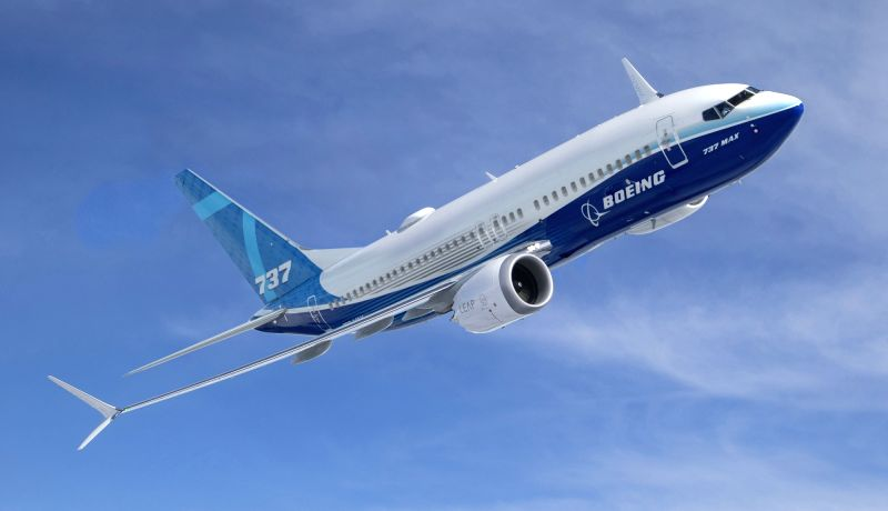 Boeing 737-MAX. (File Photo: Boeing)(Image Source: IANS News)