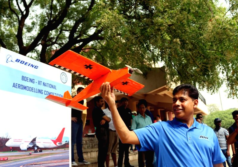 Boeing India President Pratyush Kumar during an aero modelling show organised by BOEING India in association with Indian Institute of Technology (IIT Delhi) in New Delhi on April 22, 2017. - Pratyush Kumar