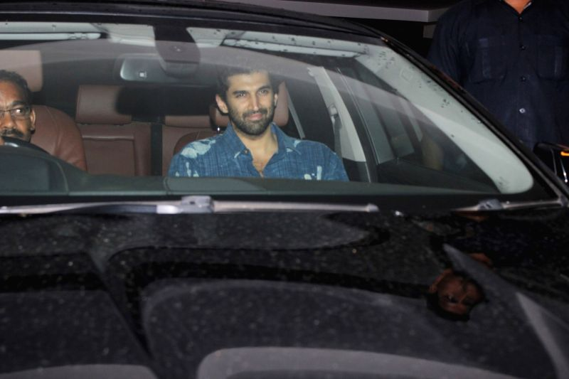 Bollywood actor Aditya Roy Kapur spotted at filmmaker Karan Johar`s residence in Mumbai, on June 9, 2017. It was a late night dinner party at the filmmaker's house. - Aditya Roy Kapur