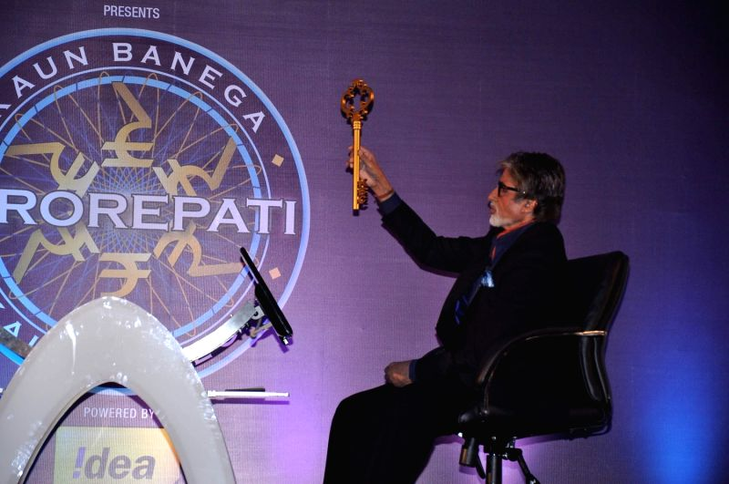 Launch of TV show Kaun Banega Crorepati - Amitabh Bachchan