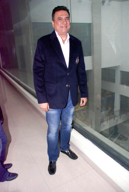 Bollywood actor Boman Irani promoting Ferrari Ki Sawaari at Big FM 92.7 in Andheri, Mumbai. - Boman Irani