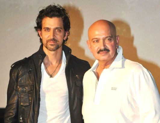 Filmmaker Rakesh Roshan is up and about after undergoing surgery for an early stage of throat cancer, his actor son Hrithik Roshan has said