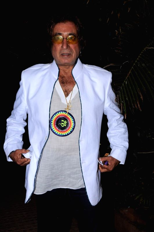 Bollywood actor Shakti Kapoor at the music launch of Dal Mein Kuch Kala Hai at Juhu. - Shakti Kapoor