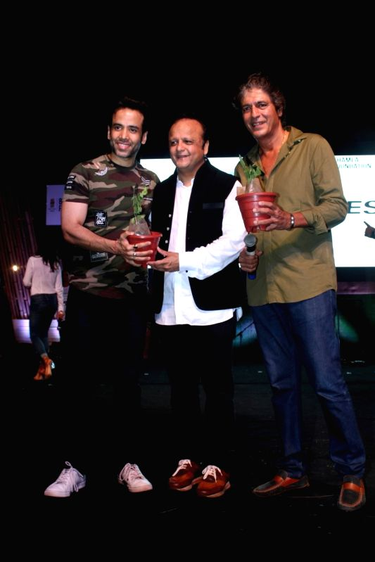 Celebs celebrate World Environment Day - Tusshar Kapoor and Pandey