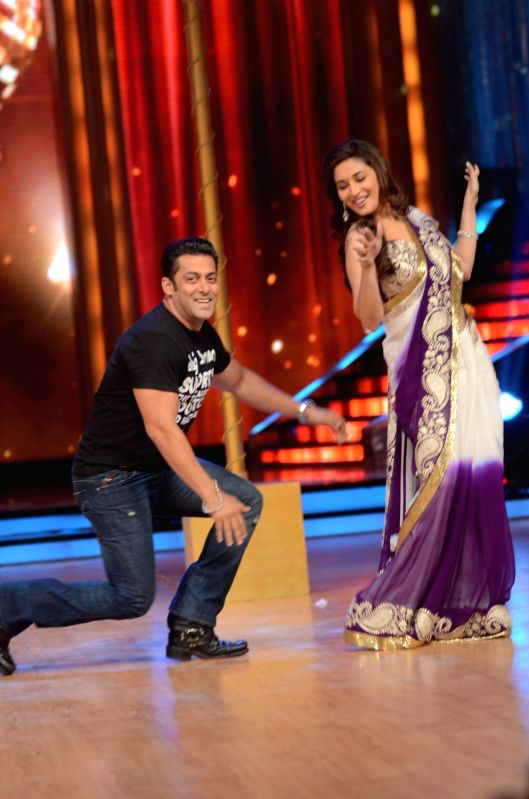 chemistry between salman and madhuri