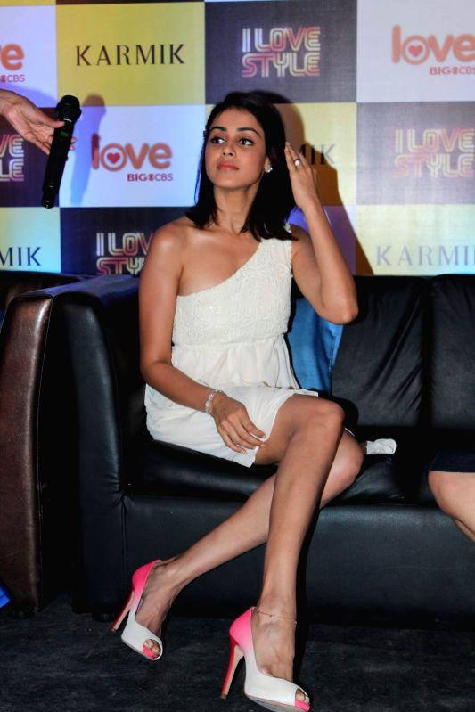 Bollywood actress Genelia D'souza at Big CBS Press Meet Mumbai, India. - Genelia Dsouza