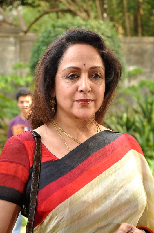 Bollywood actress Hema Malini at Whistling Woods anniversary celebrations at Filmcity. - Hema Malini