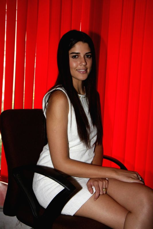 Bollywood actress Izabelle Leite during the press meet of film Sixteen in Mumbai on 7th July 2013. - Izabelle Leite